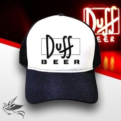 BONÉ DUFF BEER BLACK THE SIMPSONS - loja online
