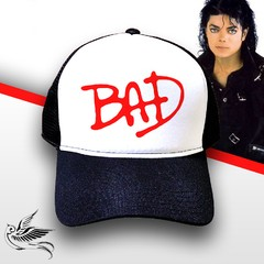 BONÉ MICHAEL JACKSON BAD