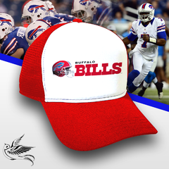 BONÉ BILLS RED NFL