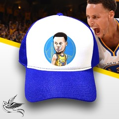 BONÉ STEPHEN CURRY GOLDEN STATE AZUL