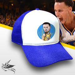 BONÉ STEPHEN CURRY GOLDEN STATE AZUL - comprar online