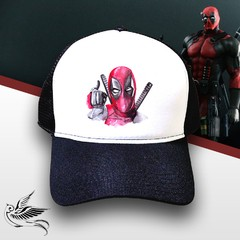 BONÉ DEADPOOL COOL