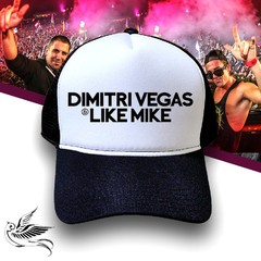 BONÉ DIMITRI VEGAS E LIKE MIKE