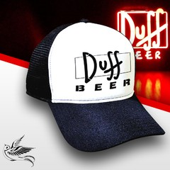 BONÉ DUFF BEER BLACK THE SIMPSONS - comprar online