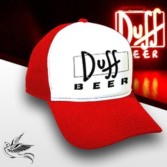 BONÉ DUFF BEER RED THE SIMPSONS - comprar online