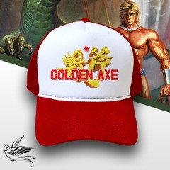 BONÉ SEGA GOLDEN AXE RED - comprar online