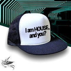 BONÉ I AM HOUSE AND YOU? - comprar online