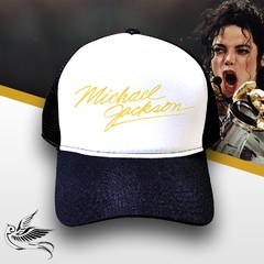 BONÉ MICHAEL JACKSON WORLD TOUR RETRO