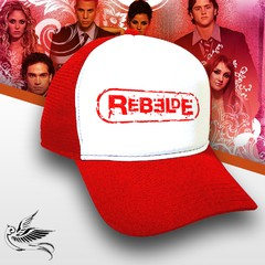 BONÉ REBELDES RBD RED