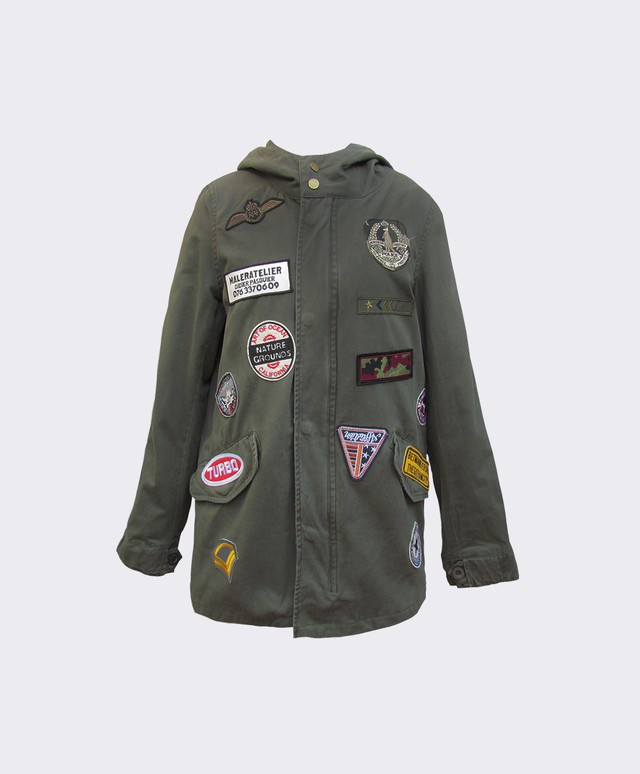 Parka com Patches