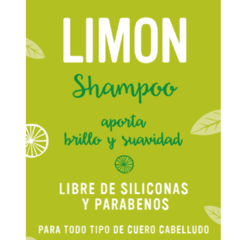 shampoo fluido natural limon