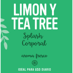 Splash corporal Limon y tea tree