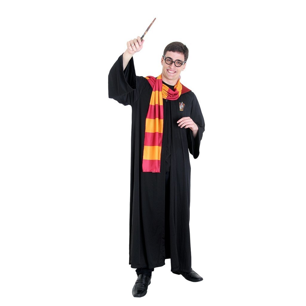 Fantasia Harry Potter Adulto Luxo Sulamericanas