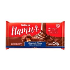 Chocolate Blend Namur Barra de 1,01kg SELECTA