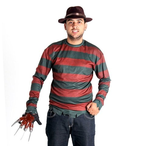 Kit Freddy Krueger Adulto