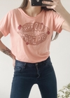 REMERA MAKEOUT CORAL
