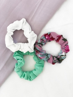 PACK X 3 SCRUNCHIES