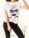 REMERA GIRL BOSS BLANCA