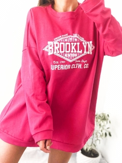 MAXI BUZO BROOKLYN FUCSIA