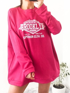 MAXI BUZO BROOKLYN FUCSIA en internet