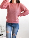 SWEATER GRIDD ROSA