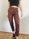 LEGGING PRINT BROWN