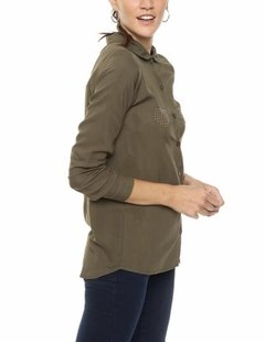 CAMISA ASHLEY VERDE MILITAR en internet