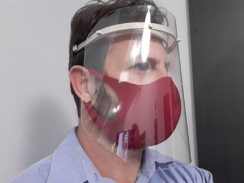 Máscara Facial Protetora Face Shield - PAN na internet
