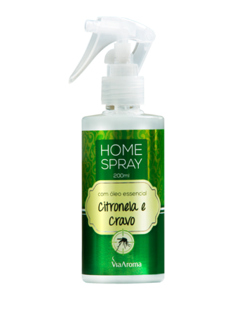 HOME SPRAY 200ml  CITRONELA E CRAVO