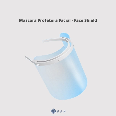 Máscara Facial Protetora Face Shield - PAN