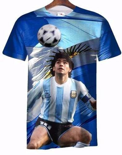 Remera Diego Armando Maradona Ranwey Fr002 - Ranwey 2cd3bdf213253