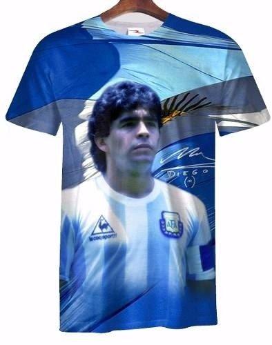 Remera Diego Armando Maradona Ranwey Fr001 - Ranwey 906043de7637e
