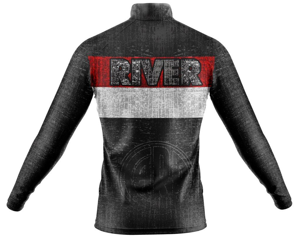 ecaa8121fa5 Campera Deportiva Slim Fit River Plate Ranwey CFR060
