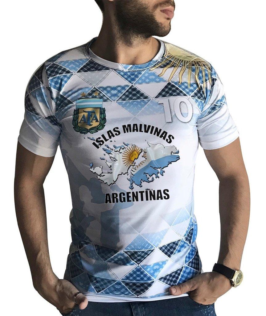 Remera Homenaje Malvinas Argentinas Ranwey Fr053