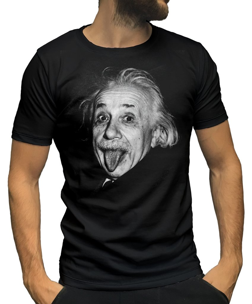 Remera Albert Einstein Ranwey Jar036
