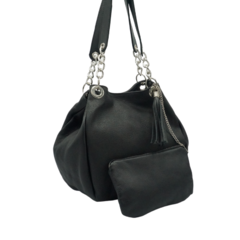 Cartera Chains - NEGRO FLOUTER