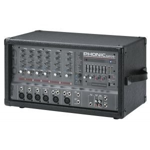 Phonic Power620plus Consola Potenciada 100+100 Eff 6 Canales