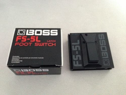 Boss Fs-5l Pedal On / Off Foot Switch Edenlp en internet
