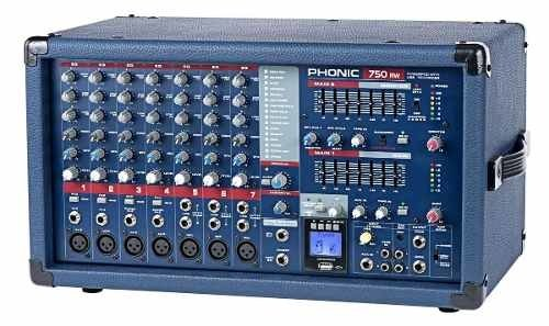 Phonic Power750rw Consola Potenciada 500w Usb Bluetooth en internet