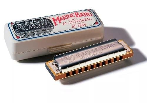 Hohner Marine Band Armonica Diatonica  En Do (c) Alemania