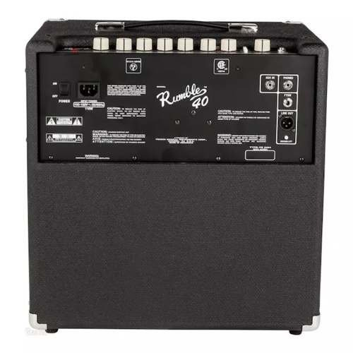 Fender Rumble 40 Amplificador P/bajo 40w 237-0305-900 en internet