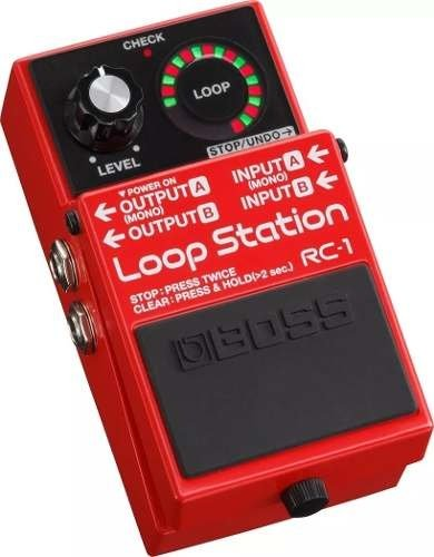 Boss Rc-1 Loop Station Pedal Looper