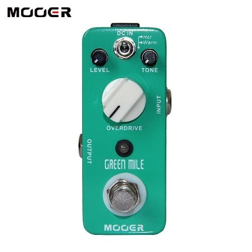 Mooer Green Mile Pedal Overdrive Para Guitarra