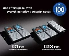 Zoom G1on Pedalera Multiefectos Guitarra  - comprar online