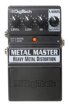 Digitech Xmm Metal Master Heavy Metal Distortion Edenlp
