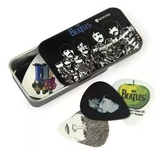 Daddario 1cab4-15bt3 Caja Metal 15 Puas Estampadas Beatles