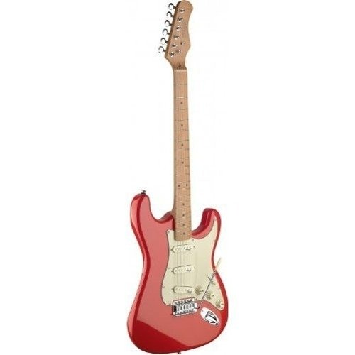 Stagg Stratocaster Ses50mfrd Guitarra Electrica Edenlp