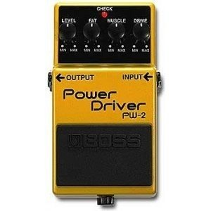 Boss Pw-2 Pedal Power Drive P/ Guitarra