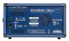 Phonic Power750rw Consola Potenciada 500w Usb Bluetooth