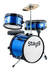 Stagg Fabj312bl Bateria Para Niños Bombo 12'' Color Azul